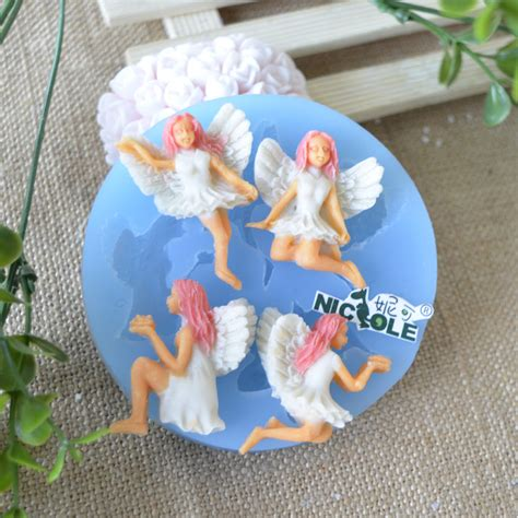 Set Fairytale The Silicone Mold Icing Clay Fondant silicone fondant soap molds gum paste mold polymer clay craft jewelry ebay