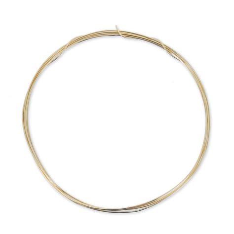 Hilo Gold Hilo 0 41 Mm De Gold Filled 12k X 1 M Perles Co
