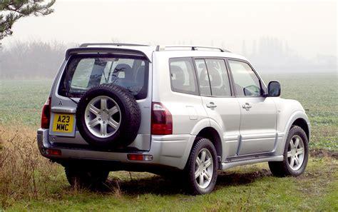 mitsubishi shogun 2000 mitsubishi shogun station wagon review 2000 2006 parkers