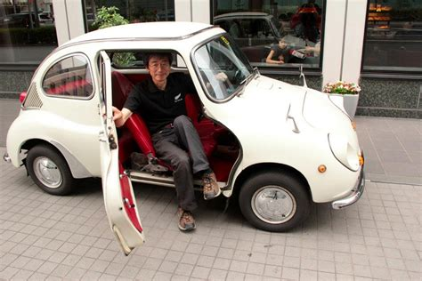 vintage lexus lexus lfa engineer chiharu tamura drives a subaru 360