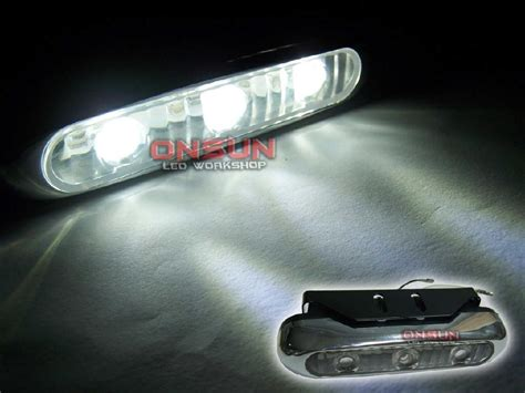 universal led car daytime running daylight drl fog light universal car drl fog driving l daylight daytime