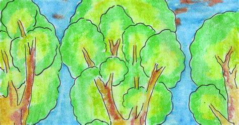 seni rupa menggambar flora fauna dan alam benda