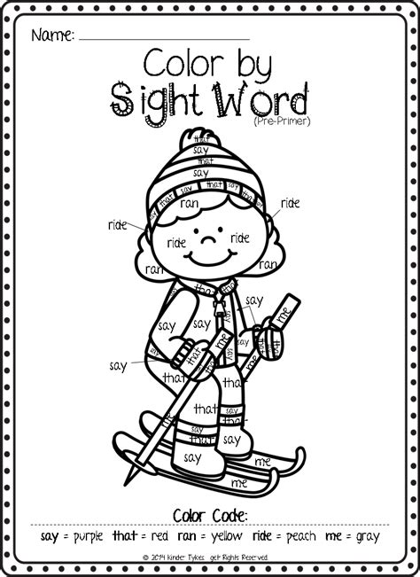 christmas coloring pages with words christmas sight word worksheets for preschool christmas