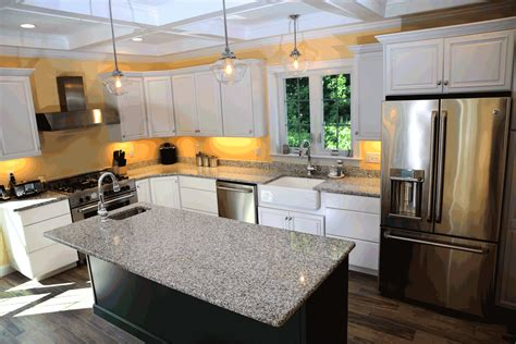 Kitchen Backsplashes With White Cabinets Azul Platino Granite Kitchen Natural Companies Marble