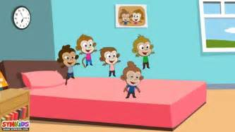 Five Little Monkeys Jumping On The Bed Lyrics Five Little Monkeys Jumping On The Bed Nursery Rhyme