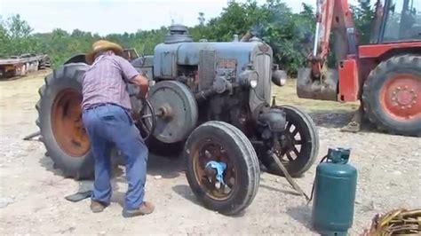 trattori a testa calda avviamento vecchio trattore testa calda orsi