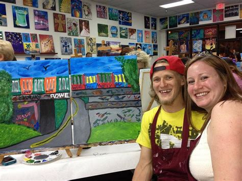 paint with a twist st augustine 9 best date images on be my