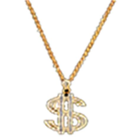 bling money necklace roblox