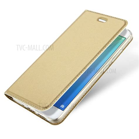 My User Flip Cover Huawei P8 Lite Gold dux ducis skin pro series flip leather card holder