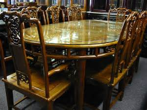 Rosewood Dining Room Set 9 Pcs Solid Rosewood 80 Quot L Oval Shape Dining Table Set
