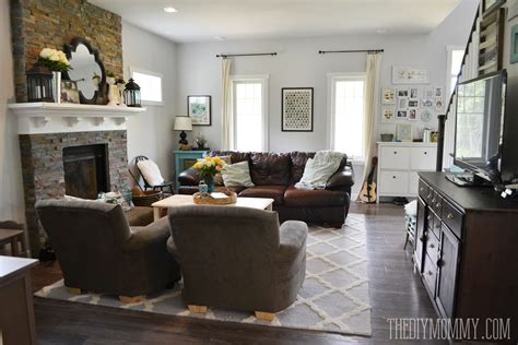 diy french country living room decorating ideas youtube our diy house 2014 home tour the diy mommy