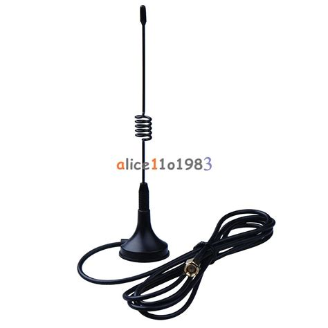 5dbi 433mhz antenna sma gsm 9 84ft cable 3m magnetic for ham radio ebay