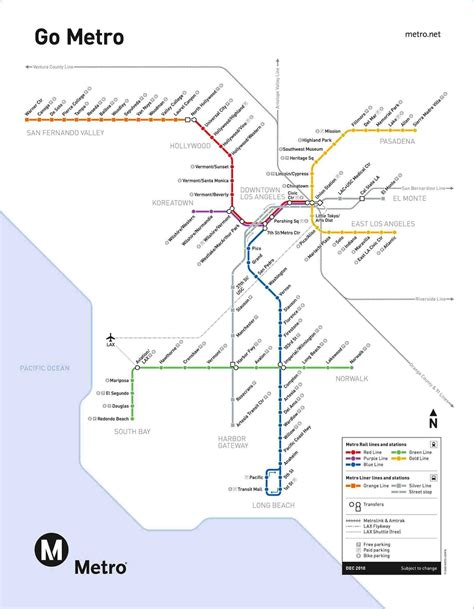 la subway map metro map los angeles 2016 afputra
