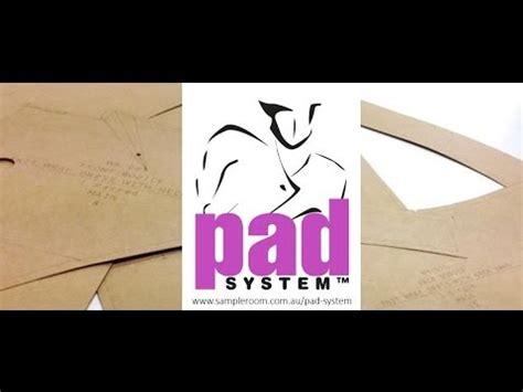 pad pattern design software pad system software de dise 241 o cad cam doovi