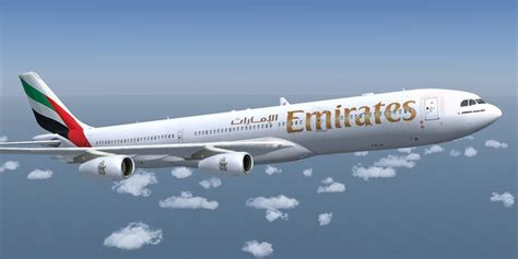 emirates aircraft emirates airlines airbus a340 313x for fsx