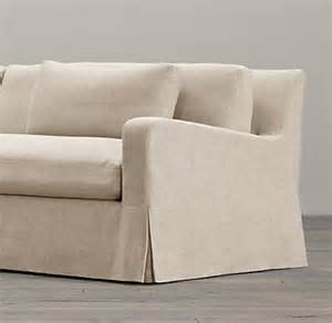 Pillow Arm Sofa Slipcover Belgian Slope Arm Two Seat Cushion Sofa Replacement Slipcovers