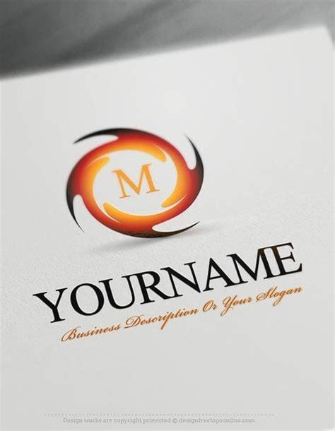 Design Free Logo Spiral Online Logo Templates Free Logo Creator Templates