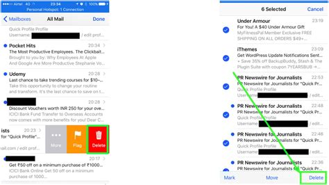 how to delete email accounts on the iphone how to delete emails and accounts on iphone ubergizmo