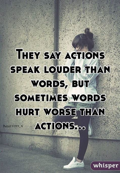 Metropop More Than Words they say actions speak louder than words but sometimes words hurt worse than actions