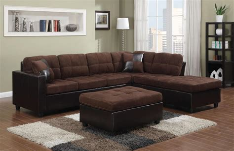 Sectional Sofa Brown Mallory Brown Leather Sectional Sofa A Sofa Furniture Outlet Los Angeles Ca