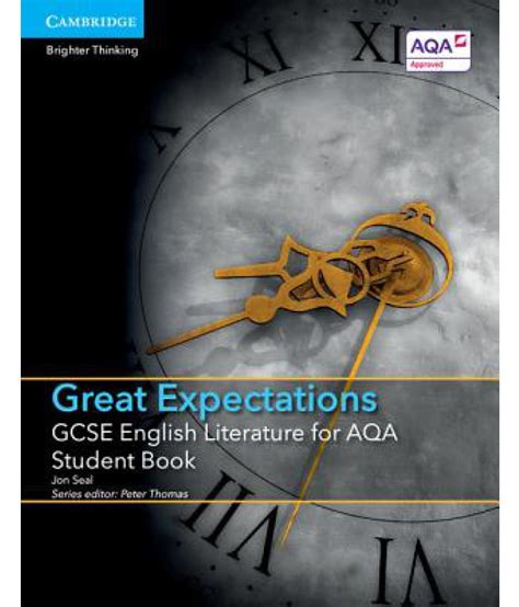 gcse english literature for 1107454557 gcse english literature for aqa great expectations student book buy gcse english literature for