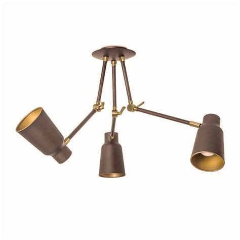 adjustable jointed arm ceiling lights