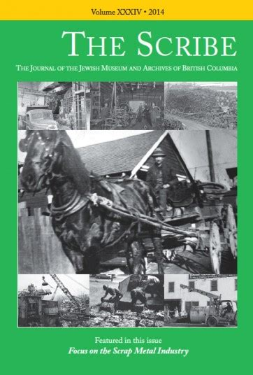 becoming a scribe books the scribe volume 34 focus on the scrap metal industry