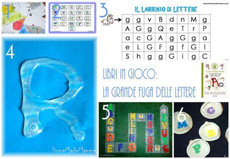 gioco delle lettere libri in gioco la grande fuga delle lettere