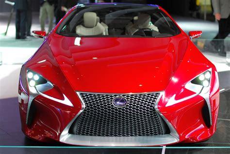 lexus lf lc white detroit 2012 lexus lf lc concept