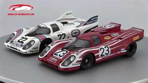 Porsche 917 Video by Ck Modelcars Video Porsche 917k 22 Winner 24h Lemans