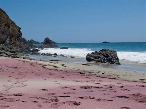 sand beaches colorful sand beaches around the world business insider