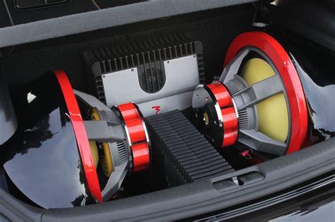 custom focal subwoofer  amplifier install   boot