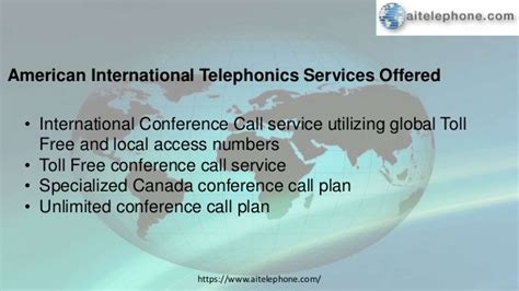 Make An International Conference Call by Aitelephone International Conference Call Service Provider