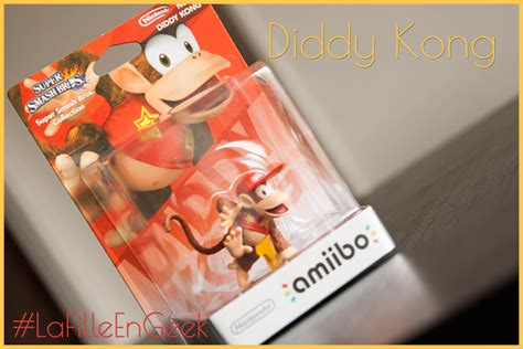 Supersmash Series Diddy Kong Amiibo amiibo diddy kong la fille en