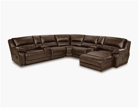leather reclining sectional with console the best reclining leather sofa reviews leather reclining