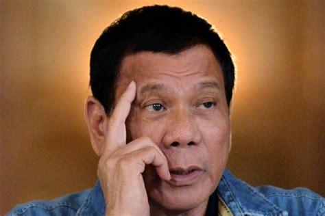 philippine president rodrigo duterte philippines duterte asks china to patrol piracy plagued