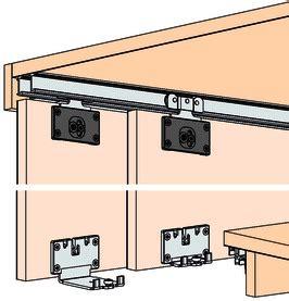ferramenta per porte scorrevoli ferramenta per ante scorrevoli eku combino 35 h mixslide