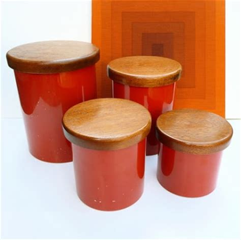 orange kitchen canisters apartment 528 canister dilema