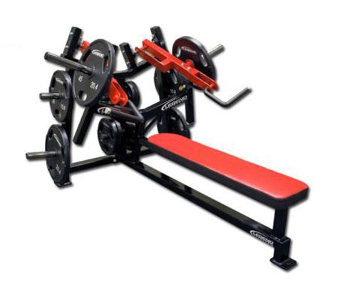 unilateral bench press unilateral converging flat chest press legend fitness