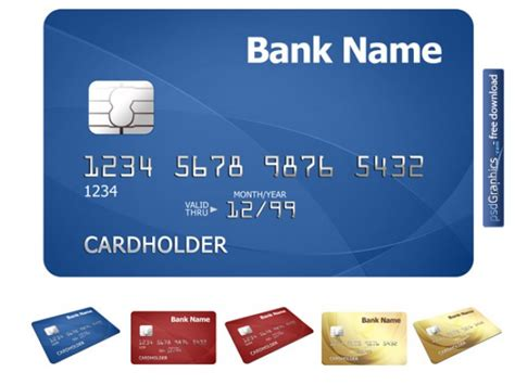 Credit Card Background Template Free Vectors Photos Psd Files Thetopfree