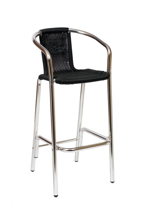 outdoor aluminum bar stools madrid outdoor restaurant bar stool barstools chairs direct seating
