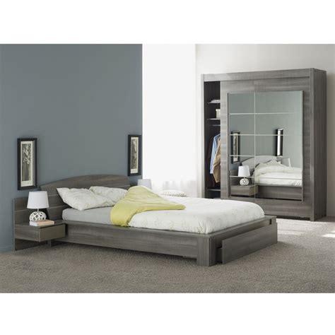 lit adulte avec tiroir quot gaby quot 140x190cm r 233 glisse