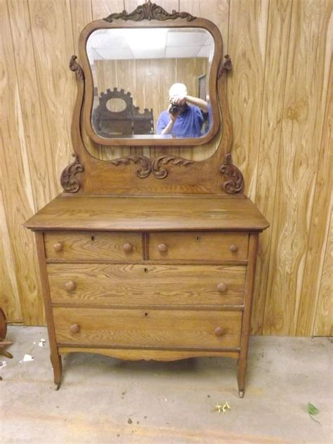 tiger oak dresser with mirror s l1000 jpg