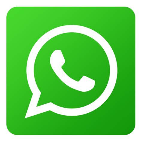 imagenes whatsapp png icono whatsapp red social gratis de flat gradient social