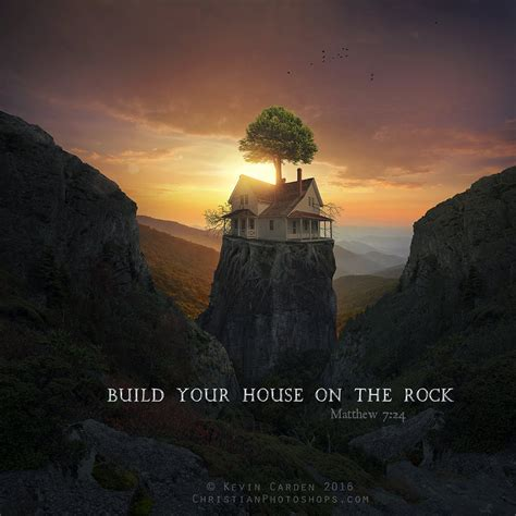 build your house on the rock by kevron2001 on deviantart