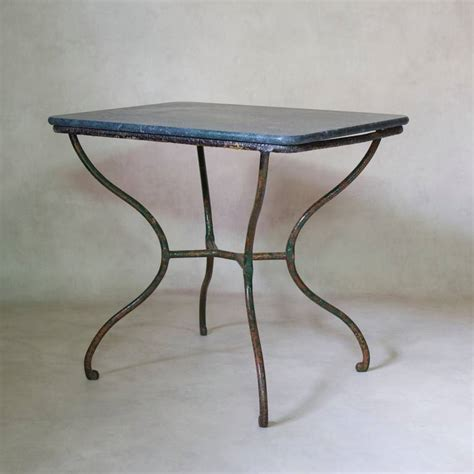 small wrought iron side table 19th century at 1stdibs