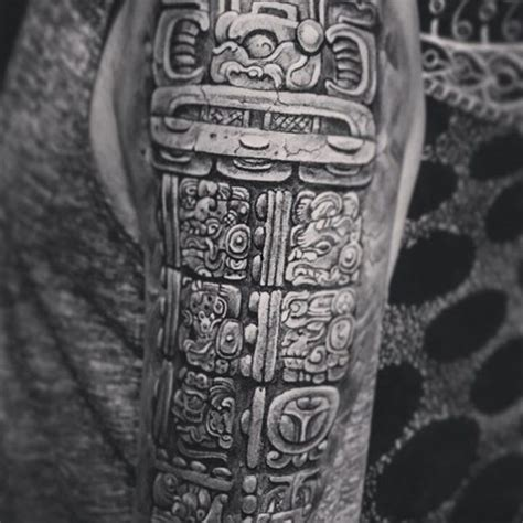 mayan tattoo designs history mayan tattoos archives tattoomega