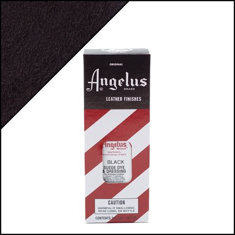 black suede dye angelus brand suede dye sneaker care products