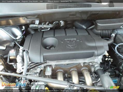 Toyota Highlander 2 7 Liter Engine 2012 Toyota Highlander 2 7 Liter Dohc 16 Valve Dual Vvt I