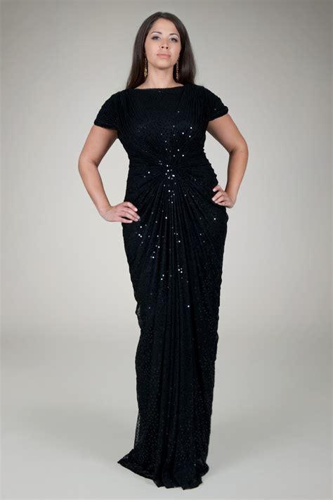 plus size beaded dress black sequined plus size dresses evening wear